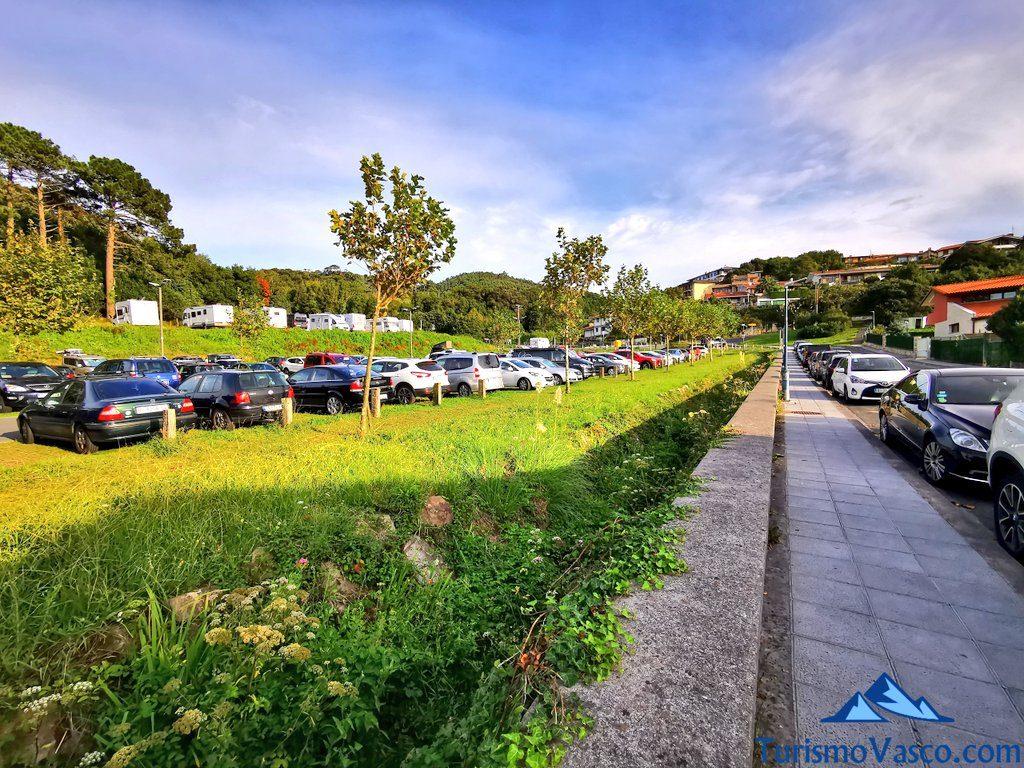 aparcamiento en Bakio, Bakio que ver y hacer