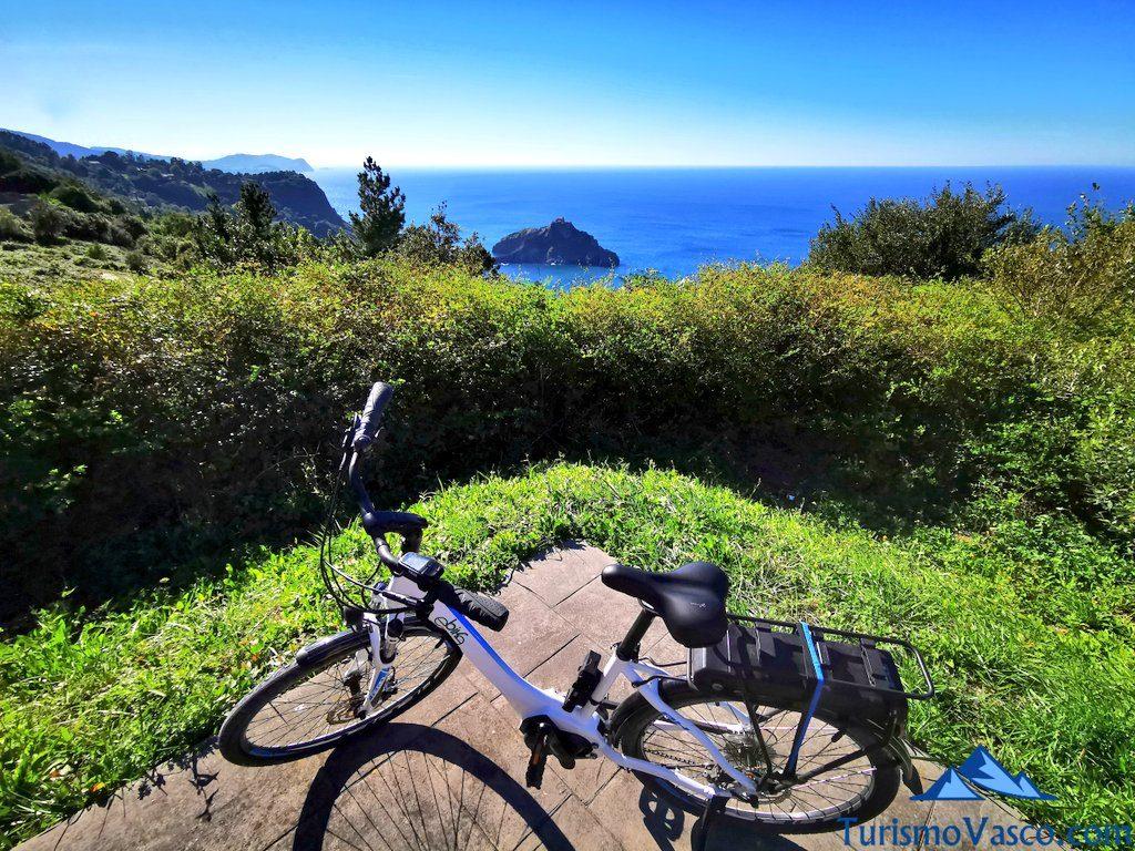 bici san juan de gaztelugatxe, alquiler de bici en Bakio