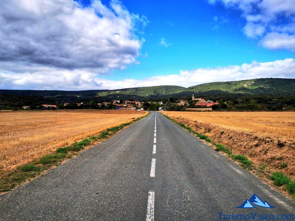 carretera hueto arriba otogoien araba