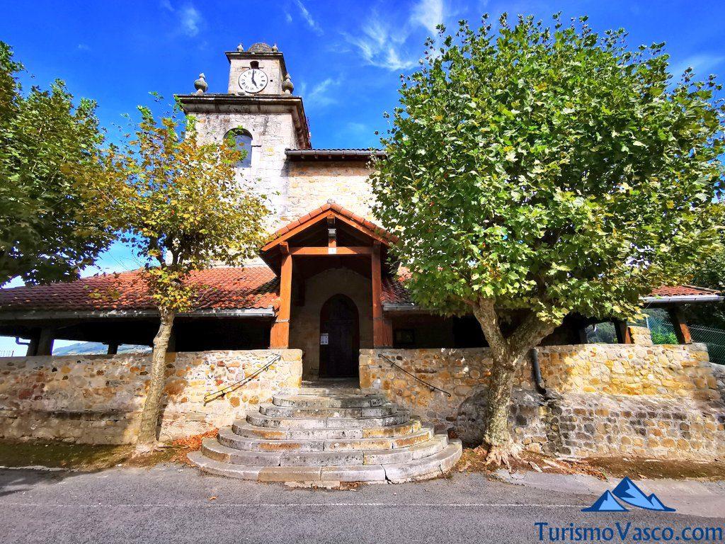 iglesia santa maria asuncion bakio, bakio que ver y hacer