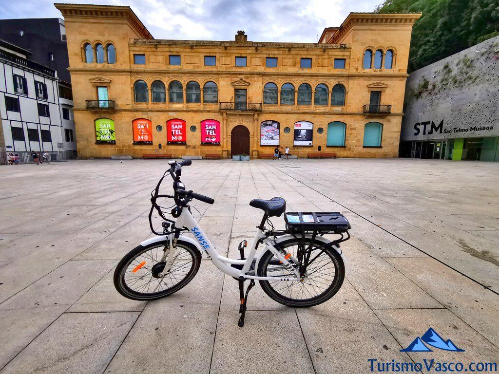 museo san telmo, alquiler de bicicletas en Donostia San Sebastian