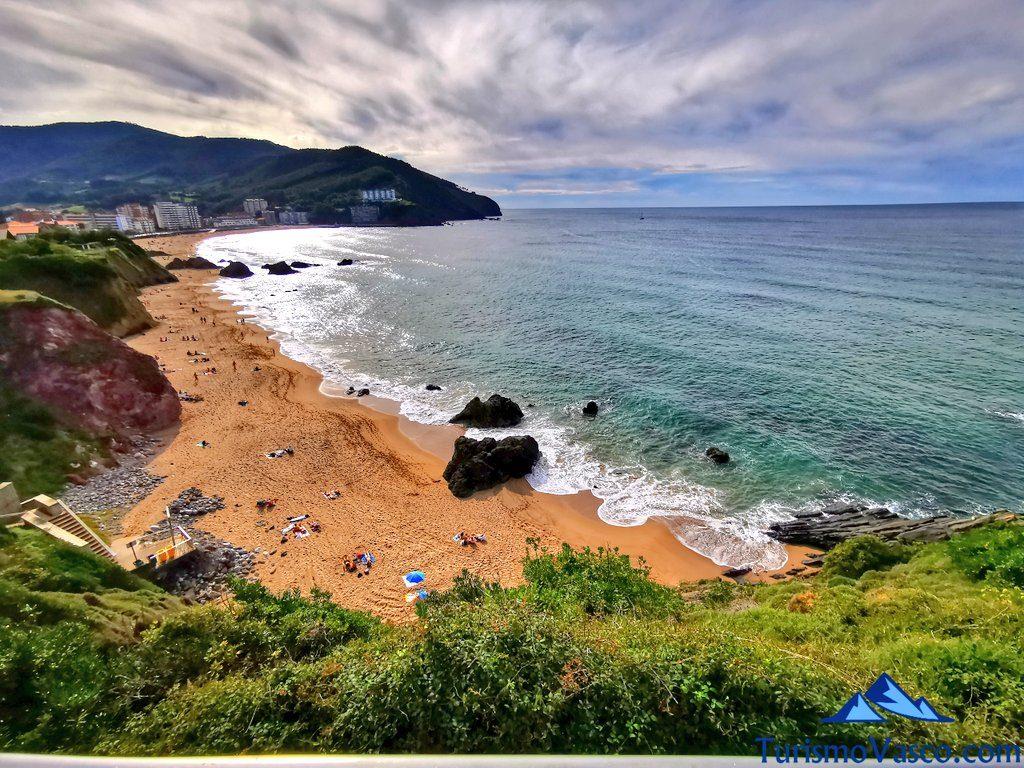 playa de bakio desde el mirador askada, Bakio que ver y hacer