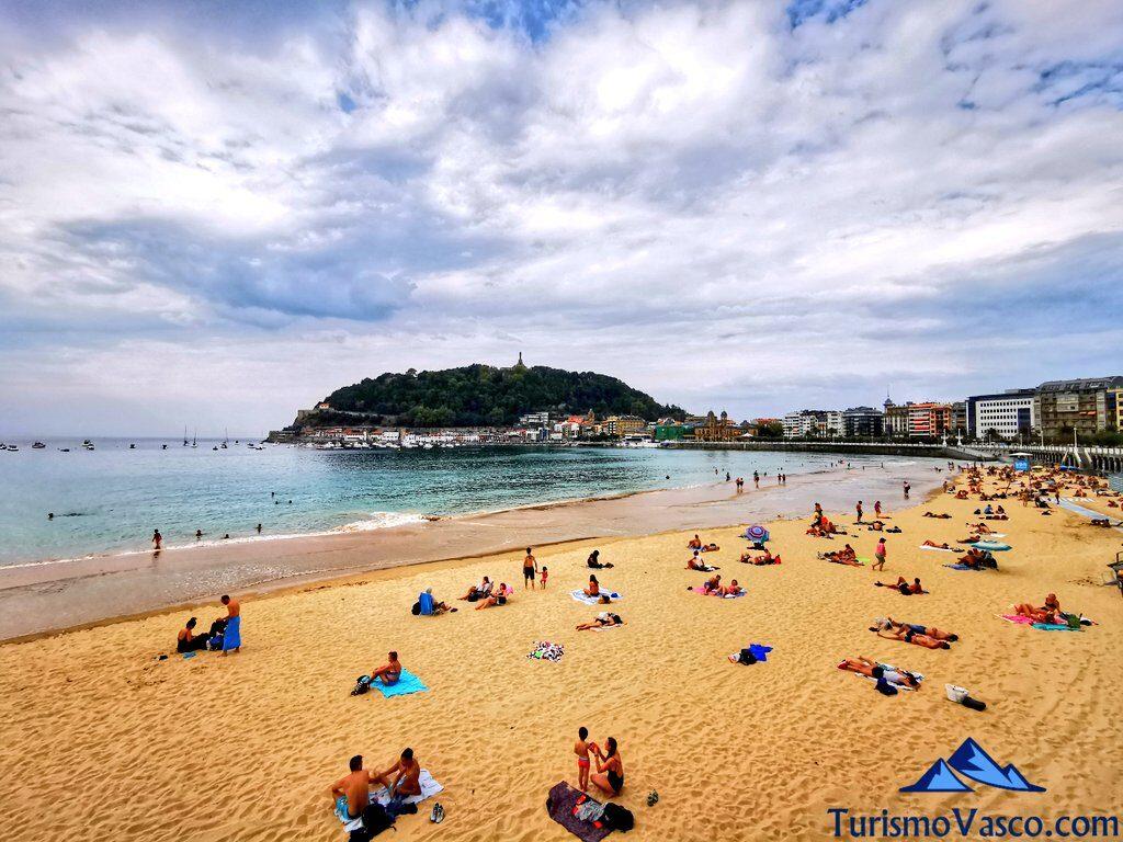 playa de la concha, Donostia San Sebastian que ver
