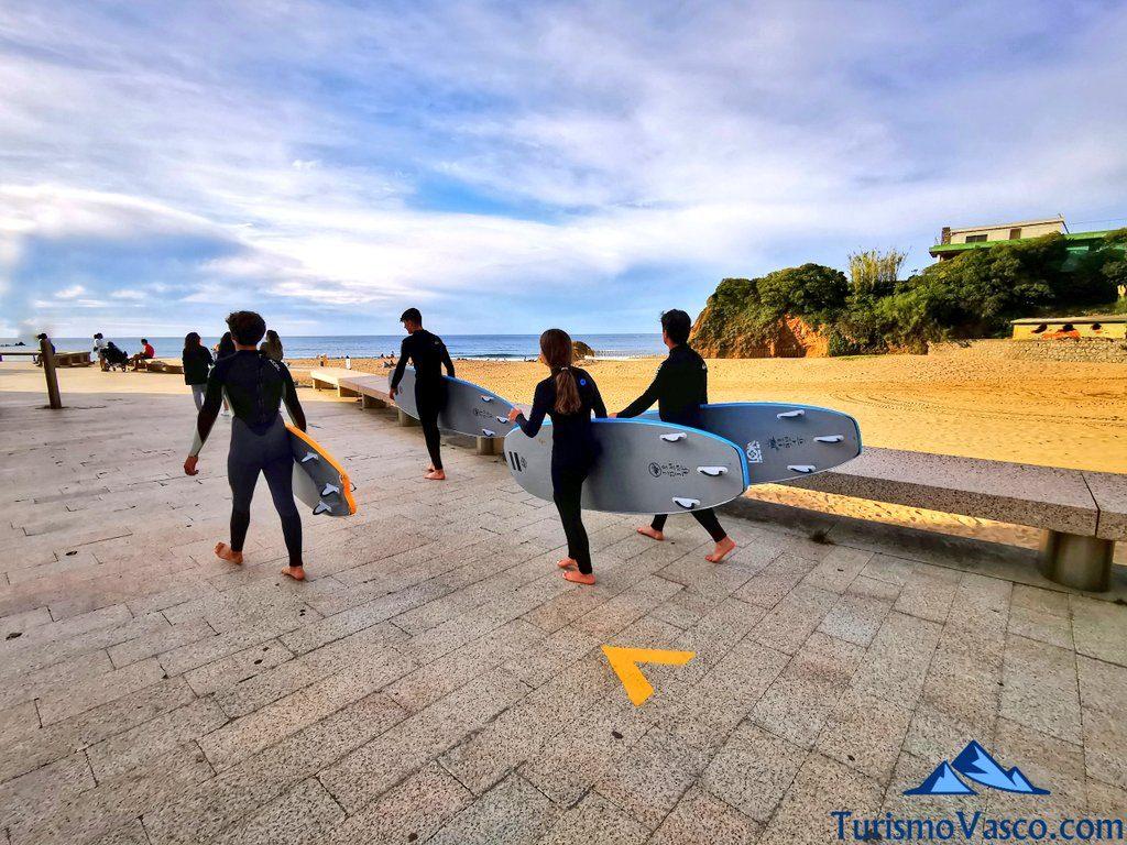 surf en Bakio, Bakio que ver y hacer