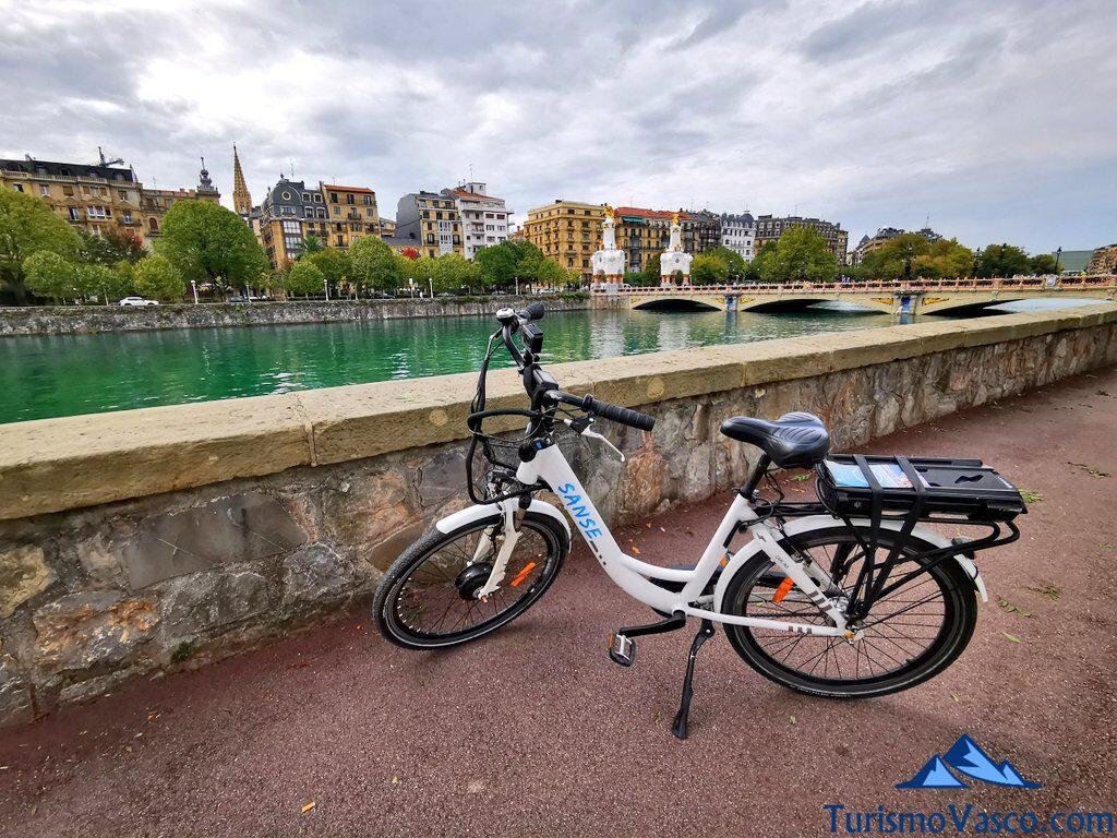 urumea, alquiler de bicicletas en Donostia San Sebastian