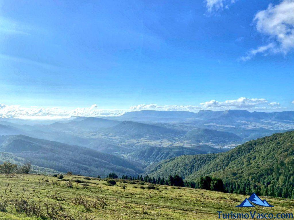 vistas desde el monte kolitza