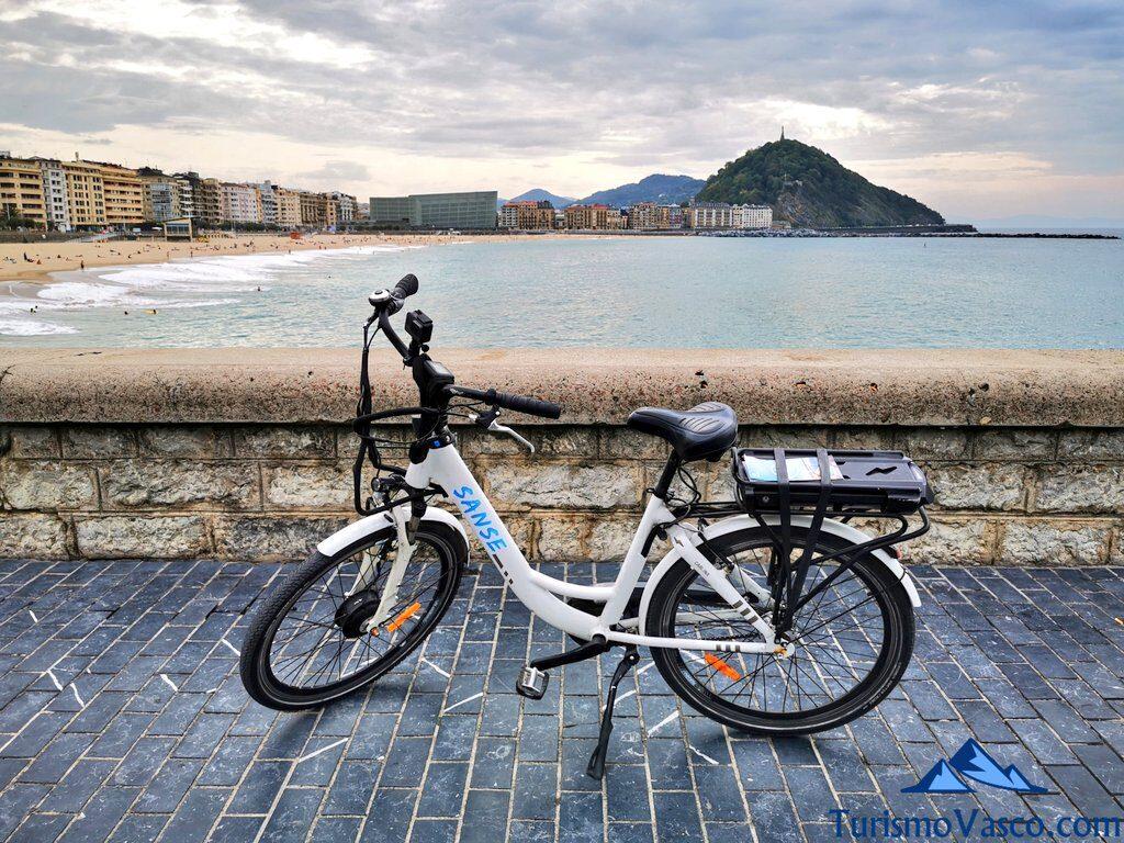 zurriola, alquiler de bicicletas en Donostia San Sebastian