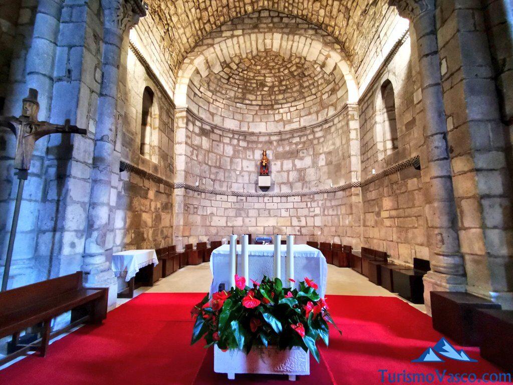 altar y virgen de estibaliz, Santuario de Estibaliz