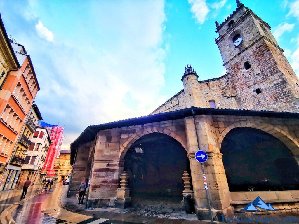 basilica santa maria de uribarri de Durango, Durango que ver