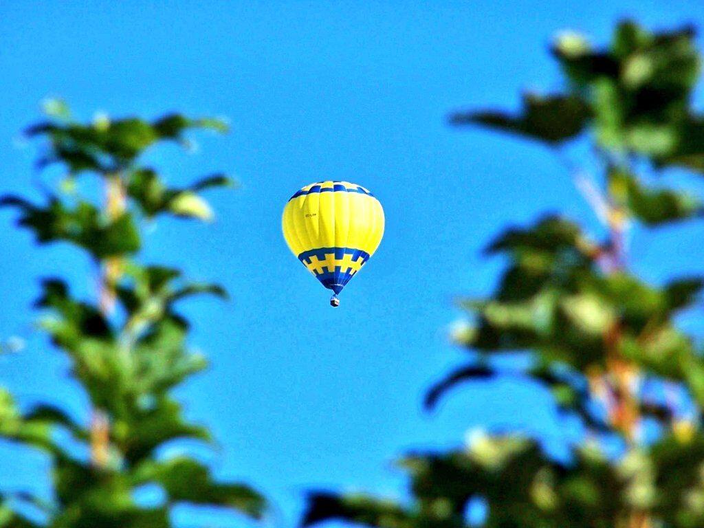 globo volando, vuelos en globo en Euskadi