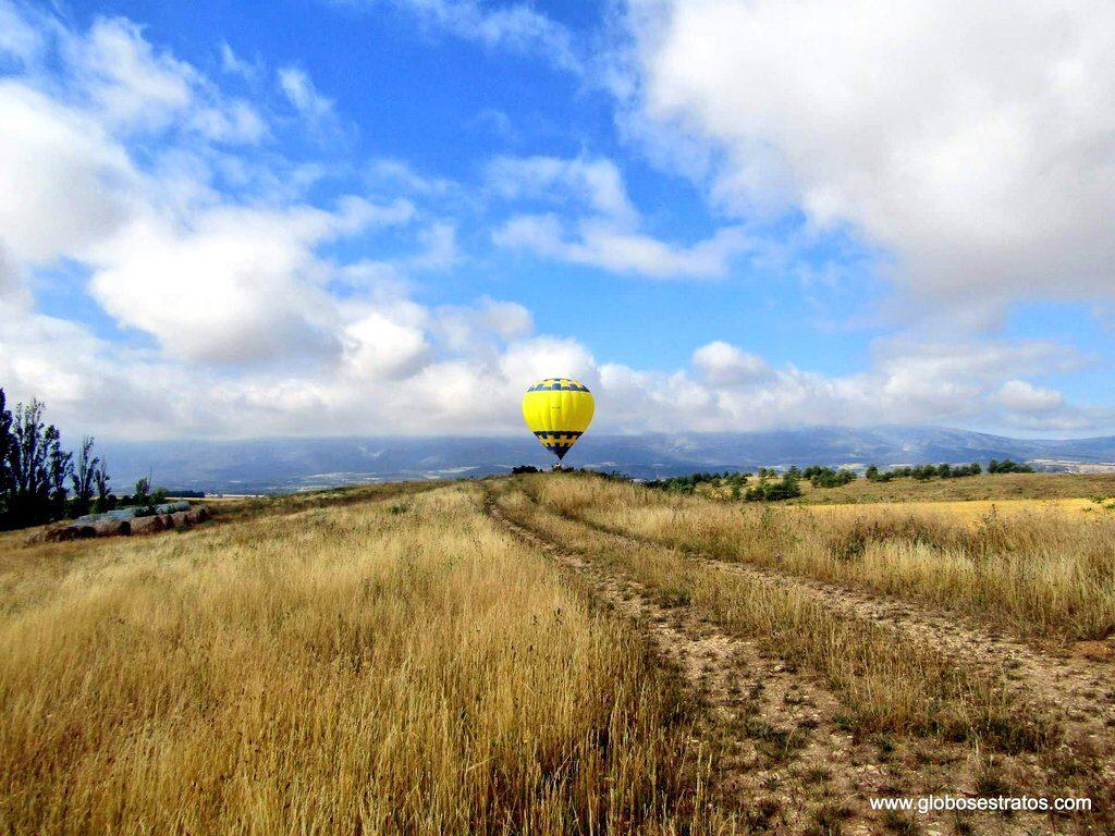 paseo en globo, vuelo en globo en Euskadi