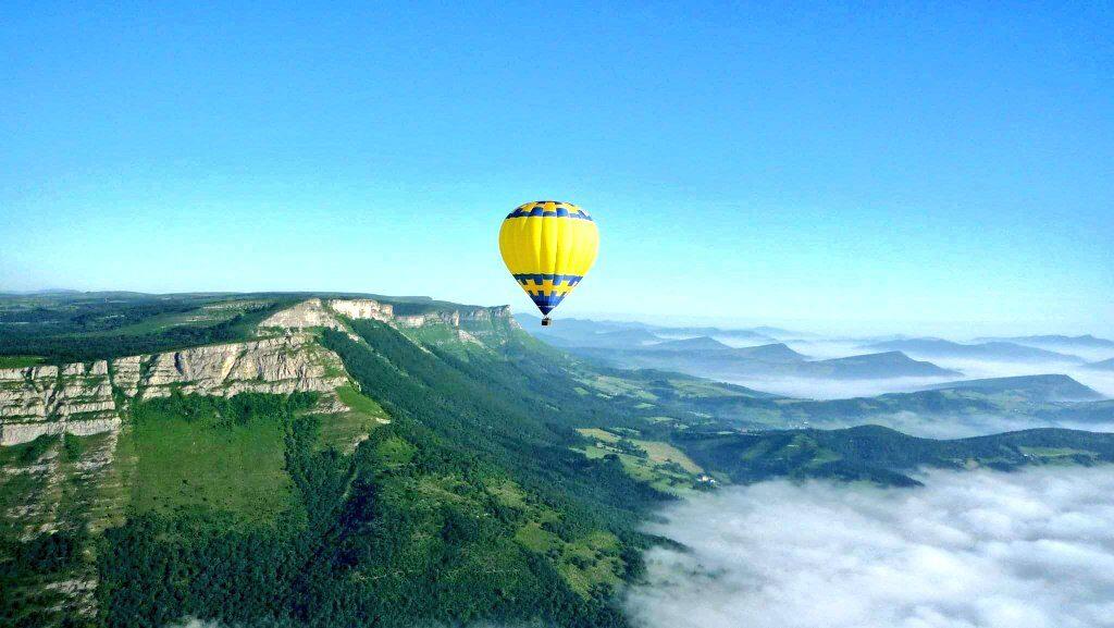 sierra salvada, orduña, vuelo en globo en Euskadi