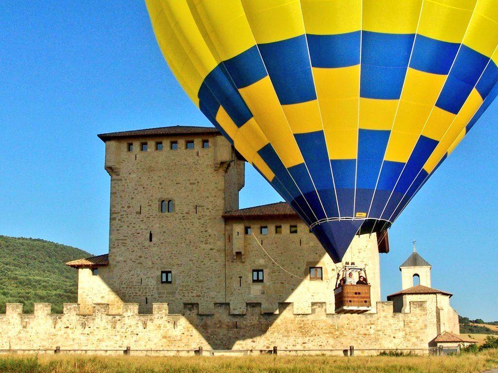 torre varona, vuelo en globo en Euskadi