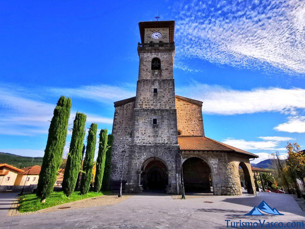 Iglesia de Santa María de amurrio, que ver en Amurrio