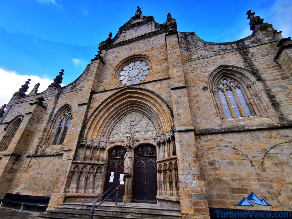 iglesia san severino, Balmaseda qué ver y hacer