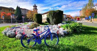 rotondas amurrio con bici, que ver en Amurrio