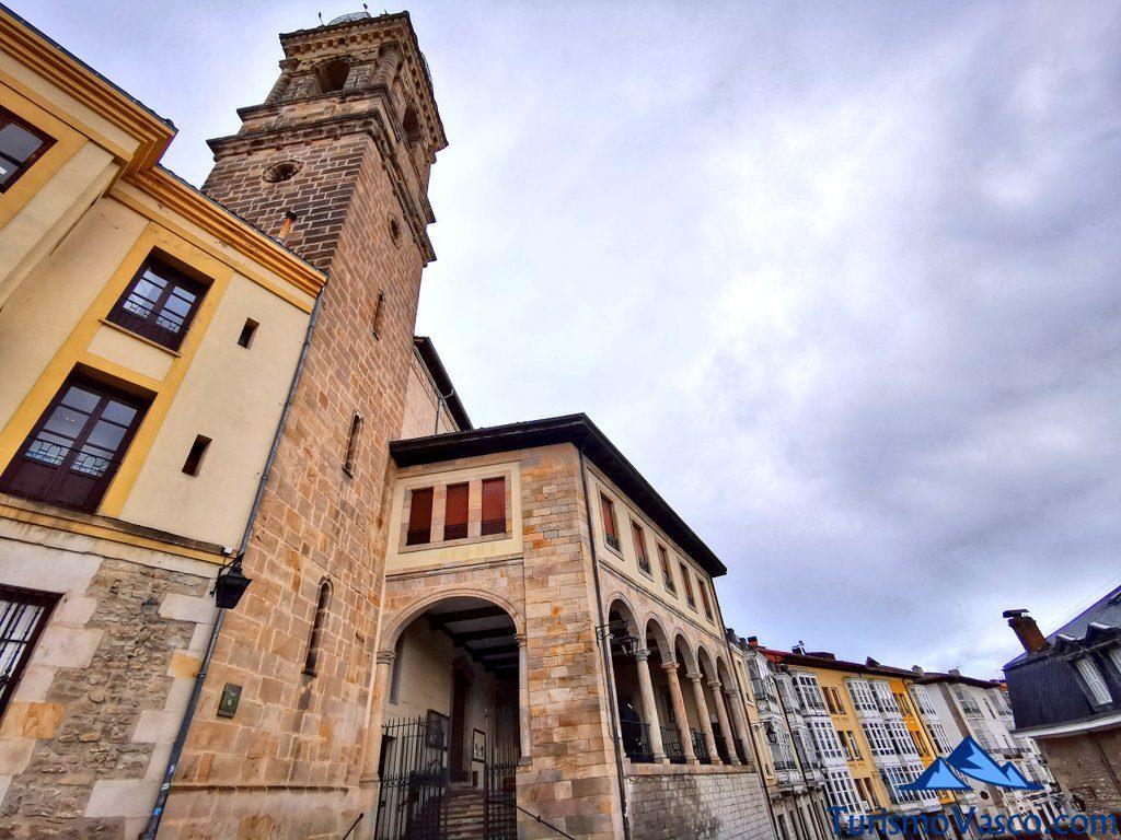 Parroquia iglesia San Vicente Mártir, qué ver en Vitoria Gasteiz