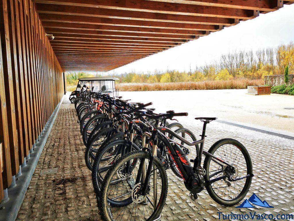 alquiler de bicicletas, Ataria Vitoria Gasteiz