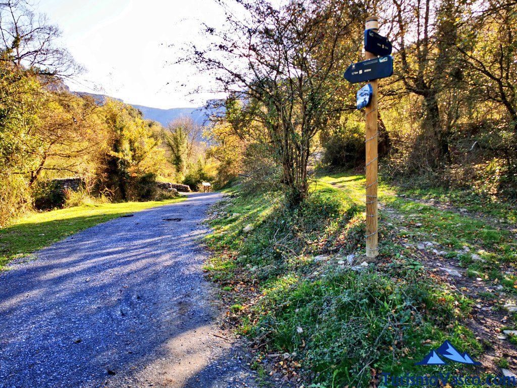 desvio ruta circular senda verde de delika