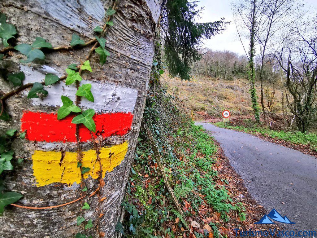 marcas ruta, Ruta embalse de Aixola