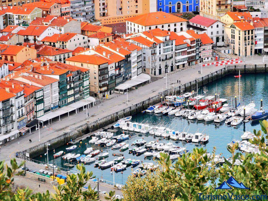 puerto de lekeitio desde lumentza, qué ver en Lekeitio