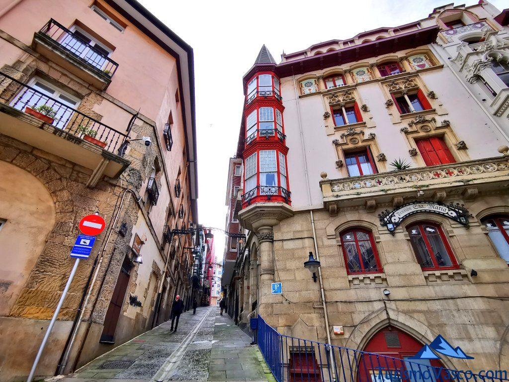 calle casco historico de portugalete, Portugalete qué ver y hacer