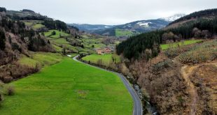 carretera de orozko dron, orozko que ver y hacer