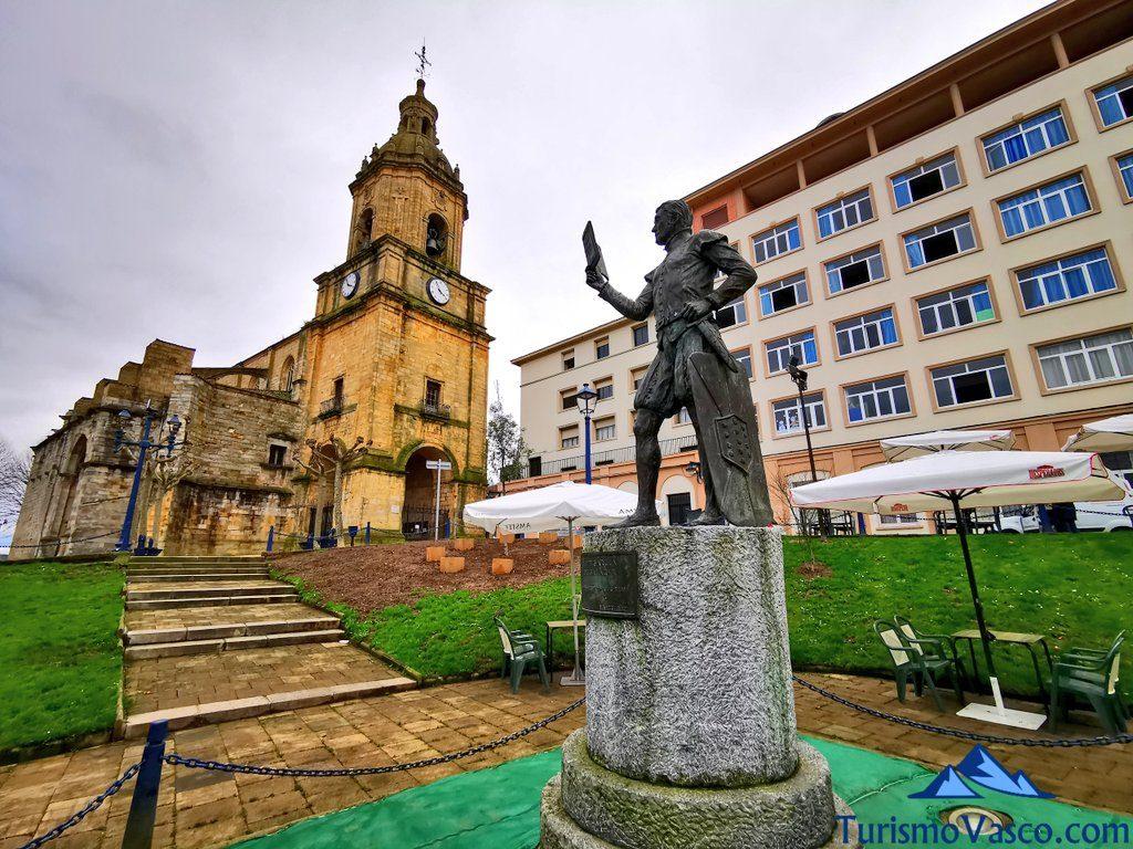 don diego lope de salazar monumento portugalete, Portugalete qué ver y hacer