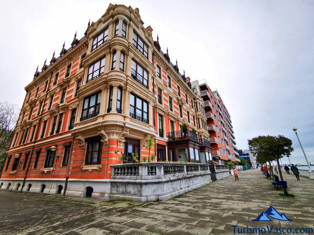 edificios historicos junto a la ria, Portugalete qué ver y hacer