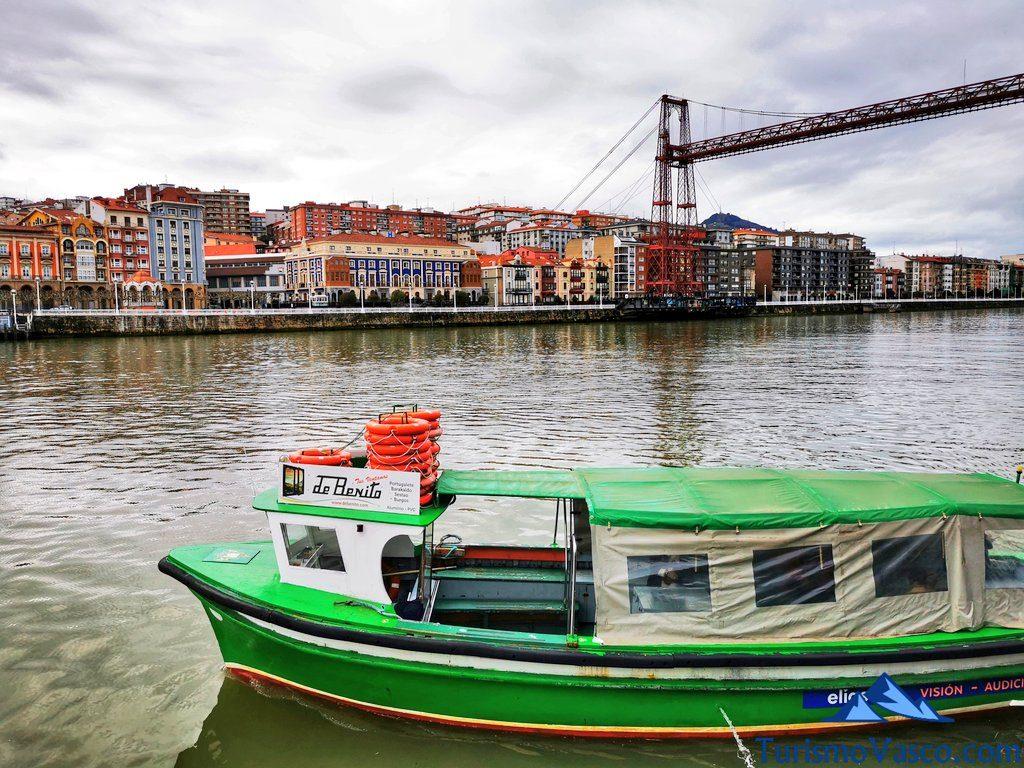 gasolino portugalete getxo bote, Portugalete qué ver y hacer