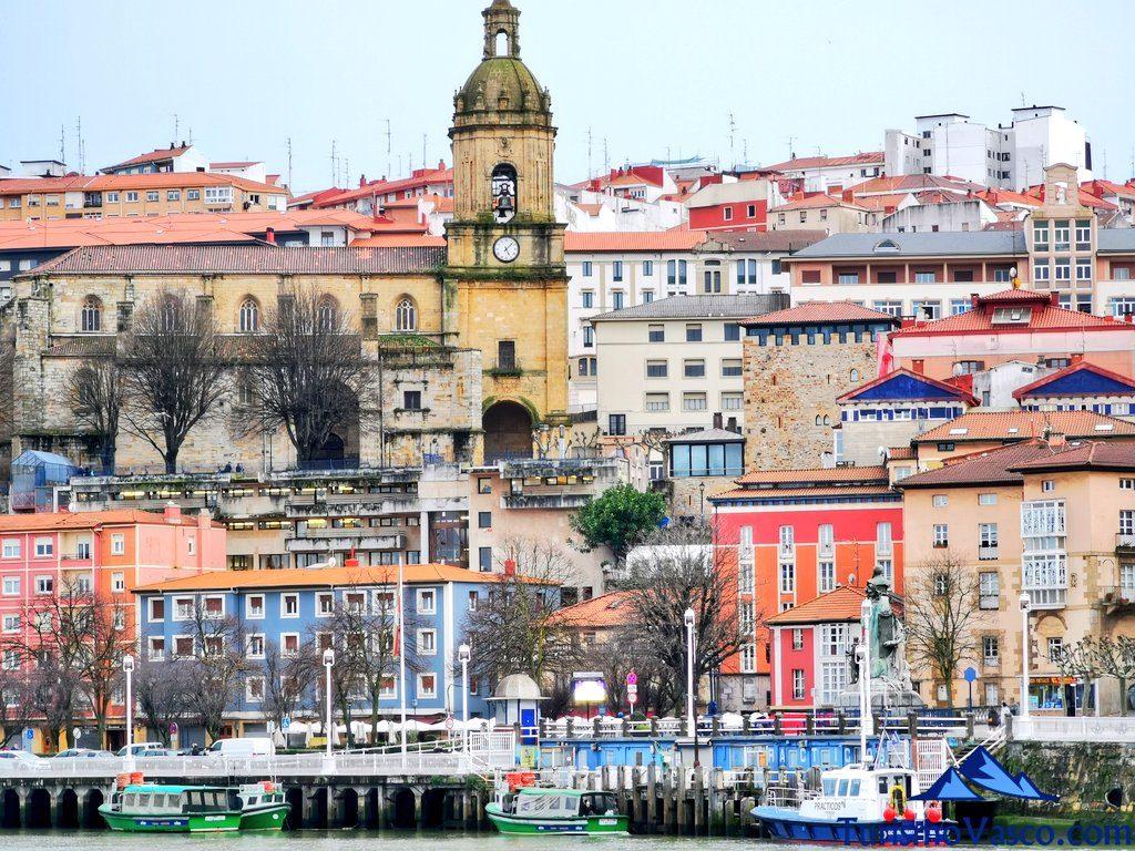 portugalete desde getxo, Portugalete qué ver y hacer