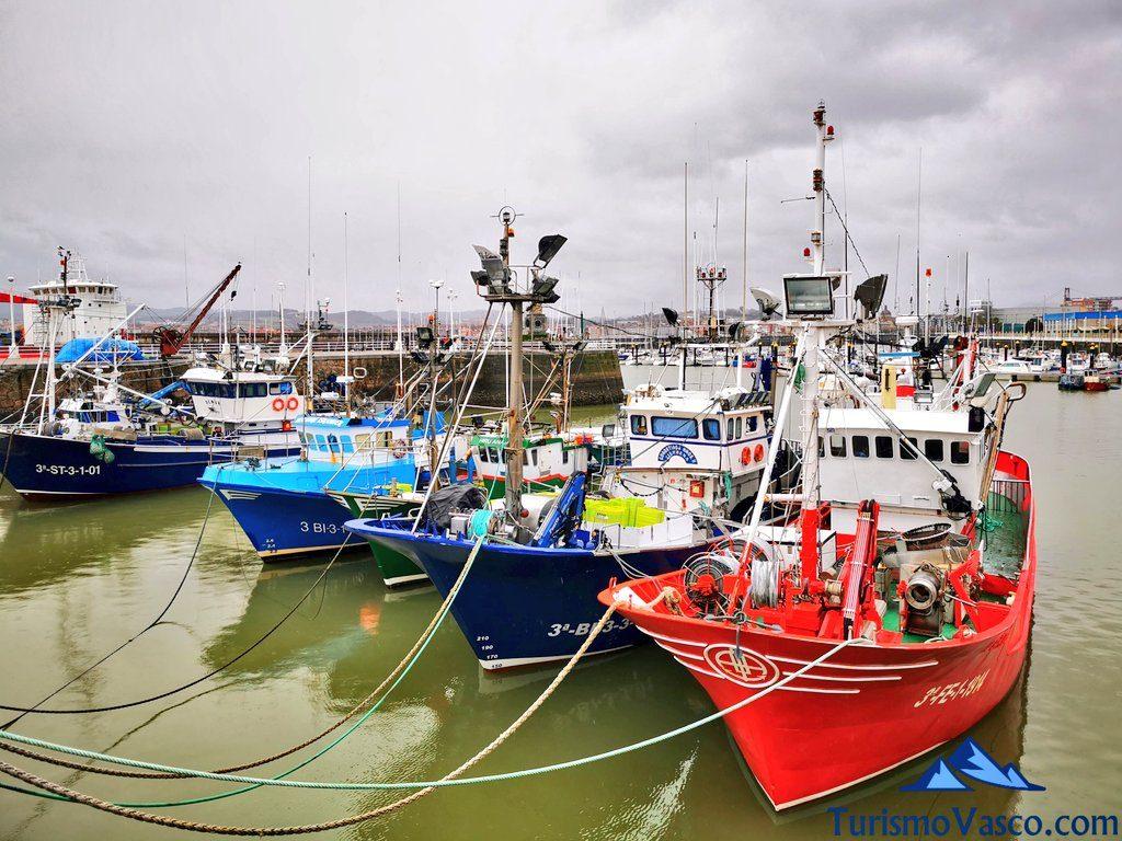 puerto pesquero, barcos santurtzi, Santurtzi qué ver