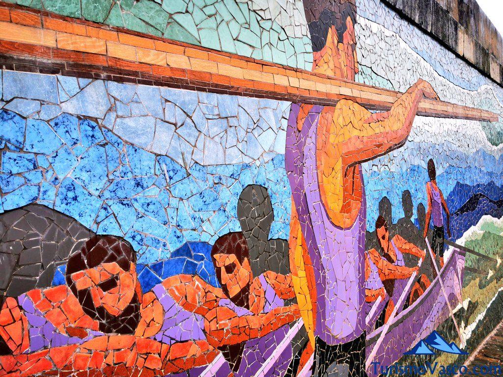 remeros santurtzi mural puerto, Santurtzi qué ver