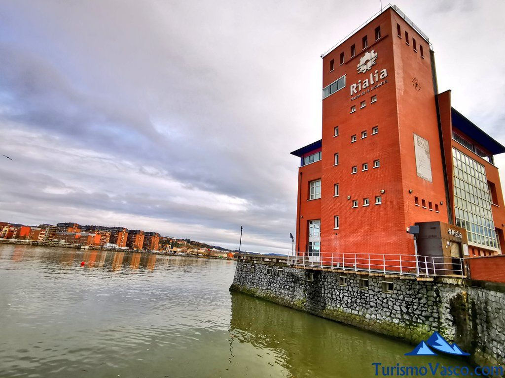 rialia museo de la industria de portugalete, Portugalete qué ver y hacer