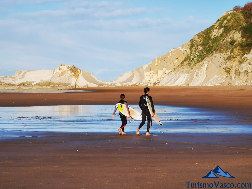 surf en sopela, playas de sopela
