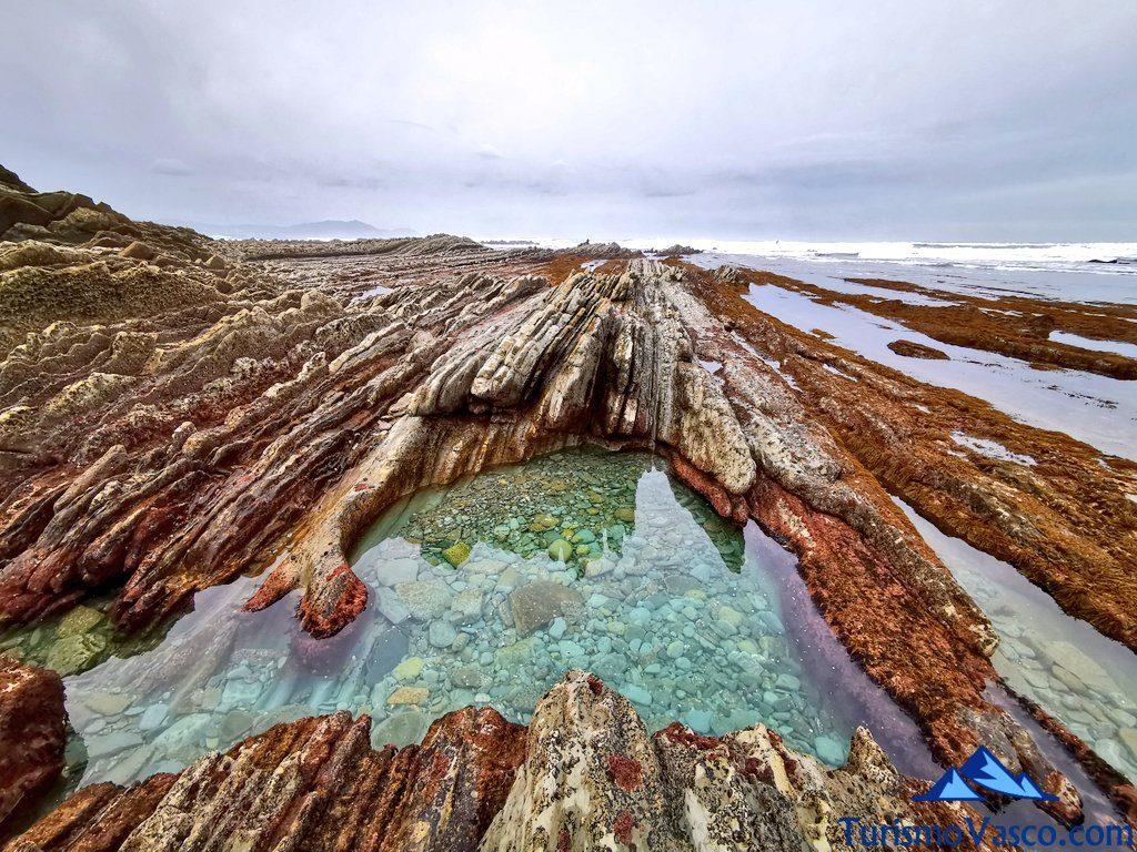 piscina natural sopela, playas de sopela