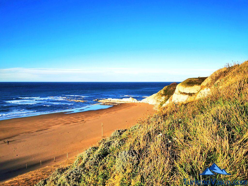 playa de barinatxe, la salvaje, playas de sopela