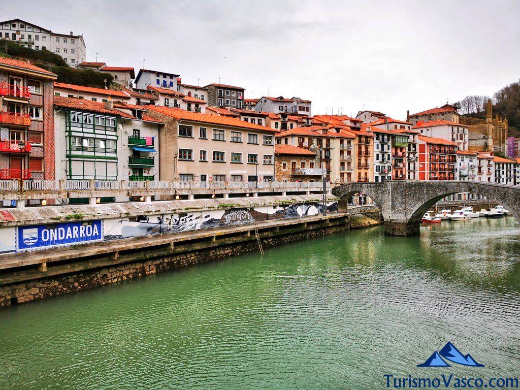 puente viejo, Ondarroa qué ver y hacer