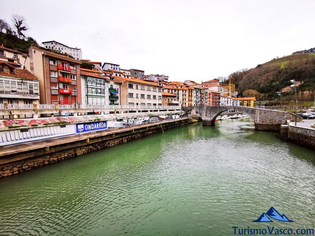 río Artibai, puente viejo Ondarroa, Ondarroa qué ver y hacer