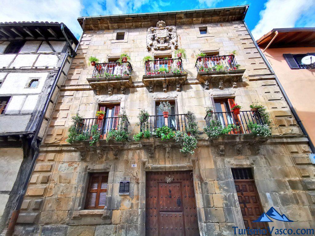 Palacio Jauregui, Jauregi Jauregia, Segura, qué ver en Segura
