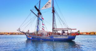 atyla velero clasico, ruta velero pirata Atyla Bilbao