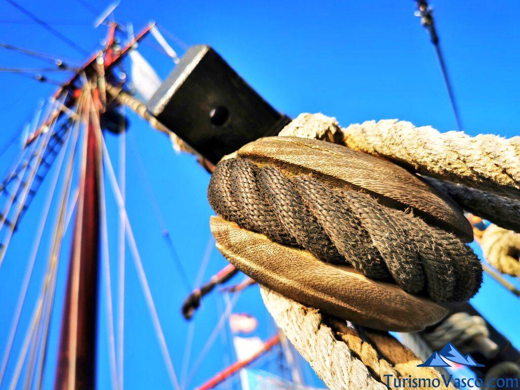 cabos del atyla, ruta velero pirata Atyla Bilbao