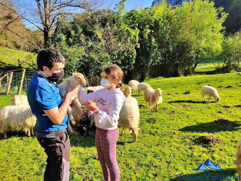 familia en pastor por un día