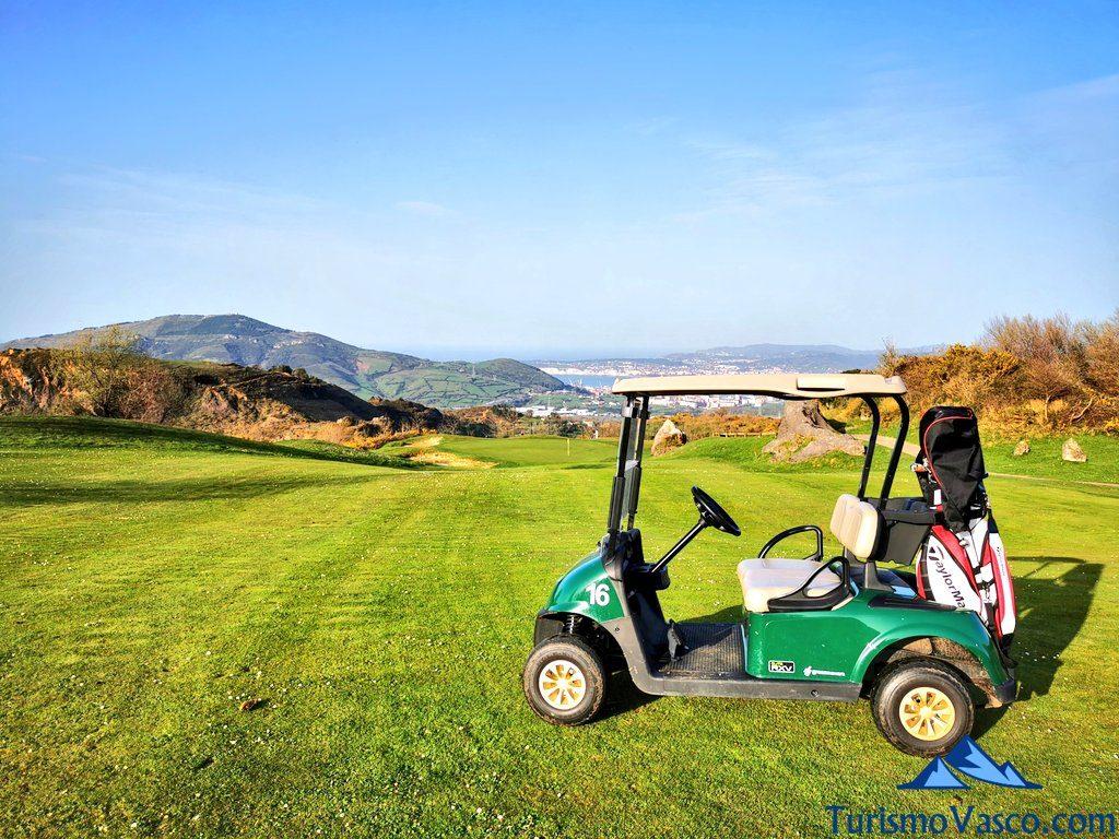 hoyo 11 meaztegi golf, Golf en Bilbao, Campos de golf de Bilbao