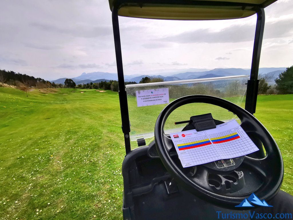 tarjeta uraburu golf, Golf en Bilbao, Campos de golf de Bilbao