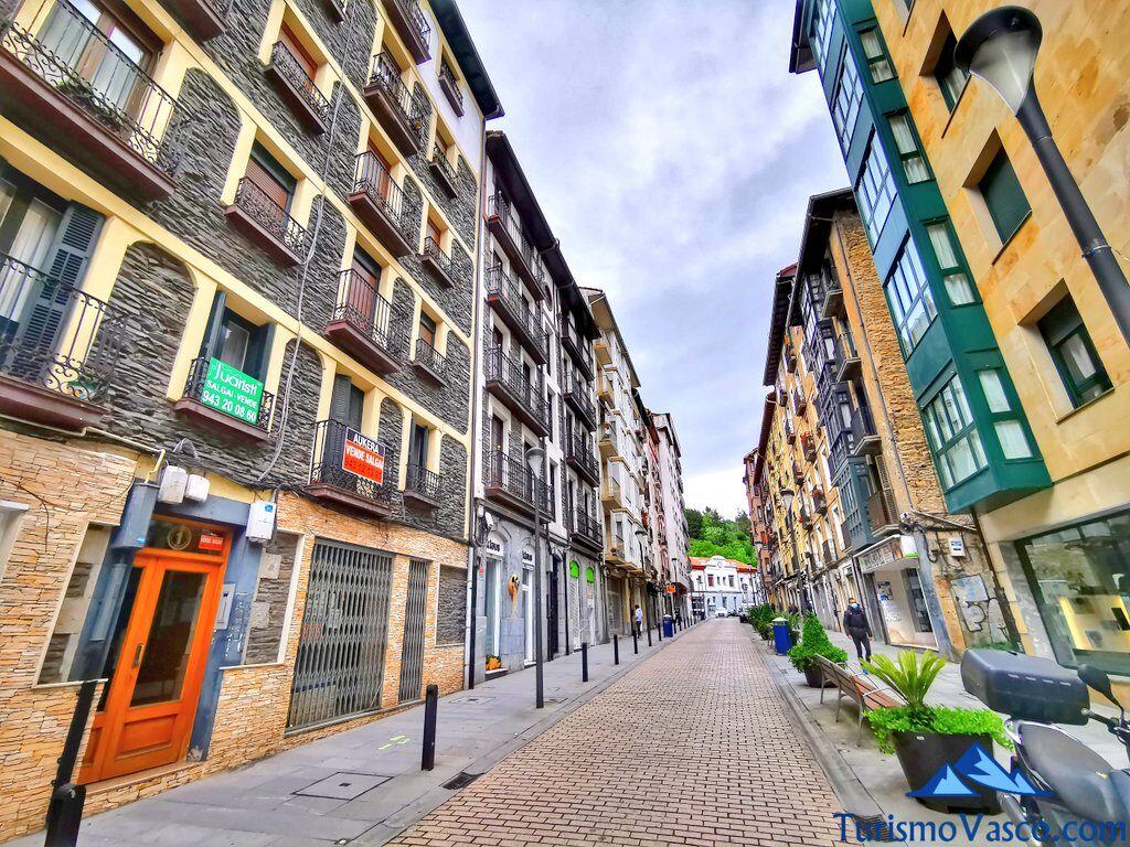 calle estaziño eibar, qué ver en Eibar