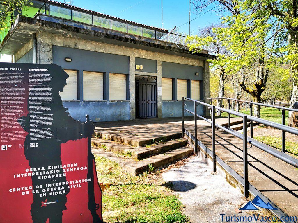 centro de interpretacion de la guerra civil de Eibar, qué ver en Eibar