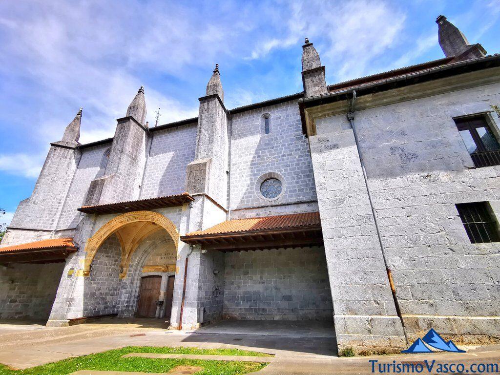 iglesia de santa maria de markina xemein, qué ver en Markina Xemein
