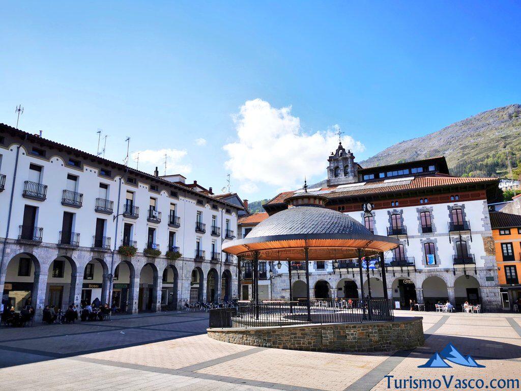 plaza nagusia Azpeitia, Azpeitia qué ver y hacer