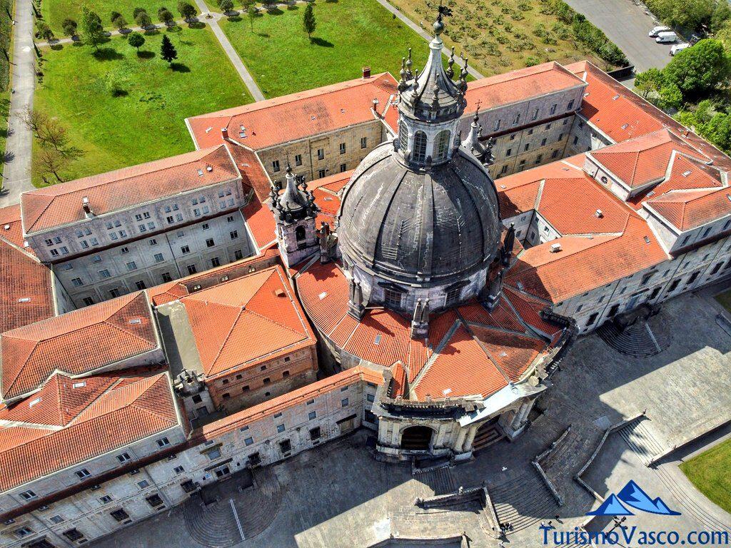 santuario de Loiola desde el dron, qué ver en Azpeitia